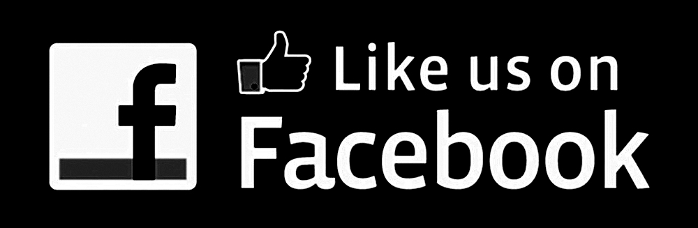 Like Facebook Logo Black And White Connect With Us